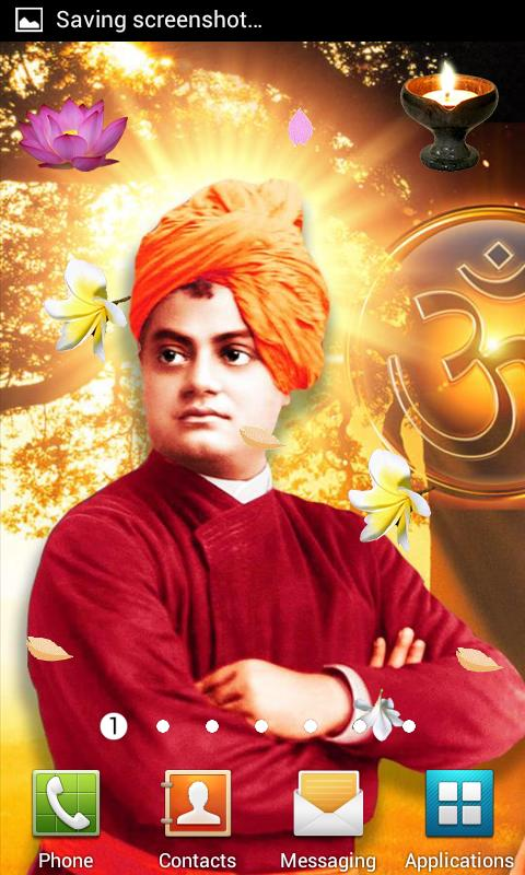 Swami Vivekanand Wallpaper LWP- screenshot