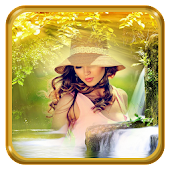 Water Fall Photo Frames