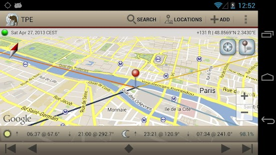 The Photographer's Ephemeris Screenshot 13