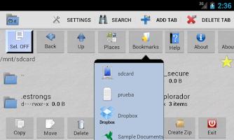 Screenshot of Multi Explorer