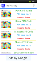 Screenshot of The PIN Key