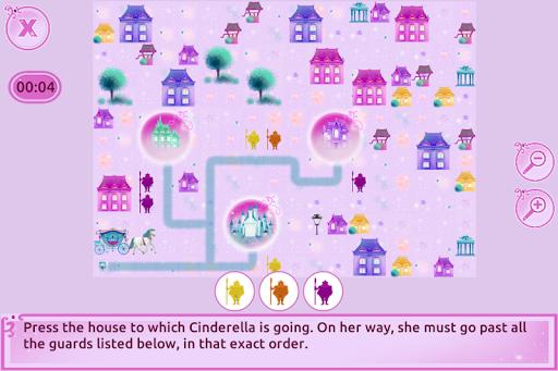 Cinderella Story Fun Educational Girls Games 1.4.0 Screenshots 3