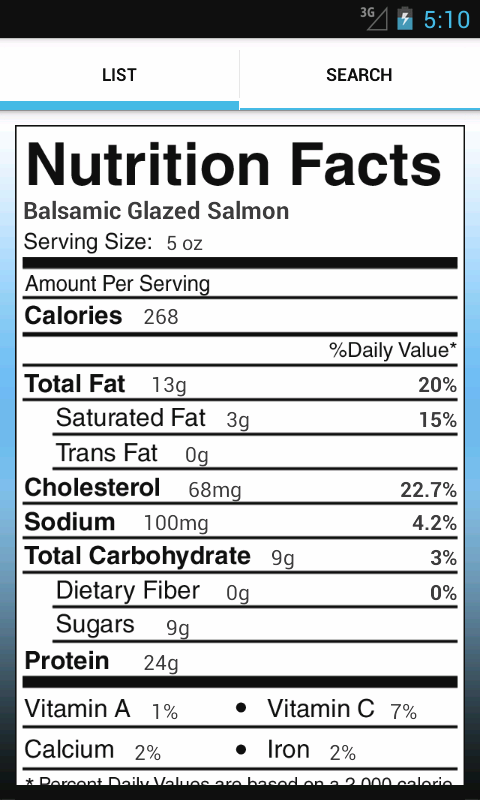 Nutrition - Vanderbilt - screenshot
