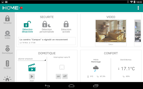 Home by sfr applications android sur google play for Application construction maison android