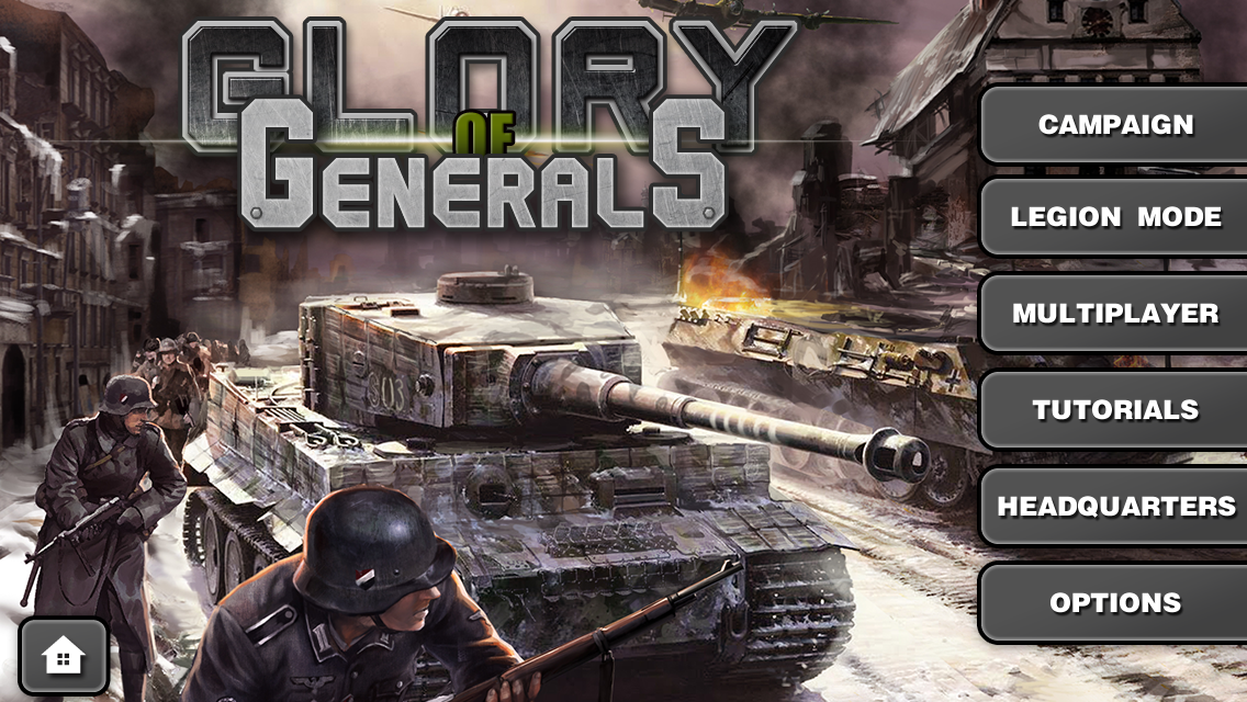 Glory of Generals HD - screenshot
