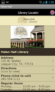 Helen Hall Library- screenshot thumbnail