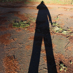 The Shadow with No Name by Gerard Toney - People Street & Candids ( cowboy, long shadow, shadow, outlaw, tall )