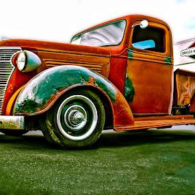 Fixer Upper by Boyd Smith - Transportation Automobiles ( rat rod, rat truck, rust )