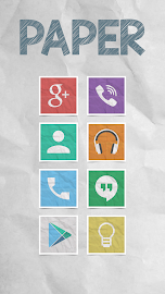 Paper - Icon Pack Screenshot 1