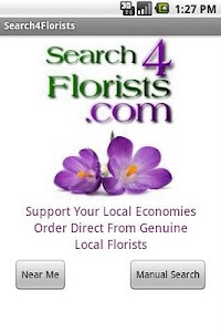 Search4Florists screenshot 1