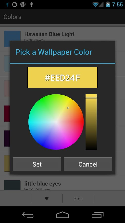 Colors - screenshot