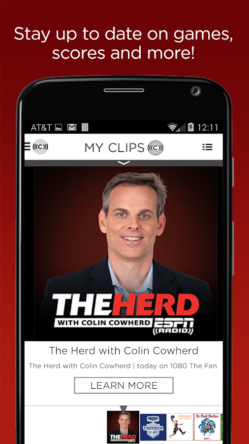ESPN Sports Radio 1080 The FAN- screenshot