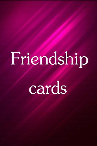 Make Friendship Cards - screenshot