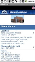 Screenshot of SLCo Library