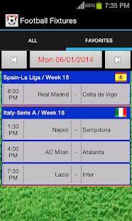 App Football Fixtures APK for Windows Phone