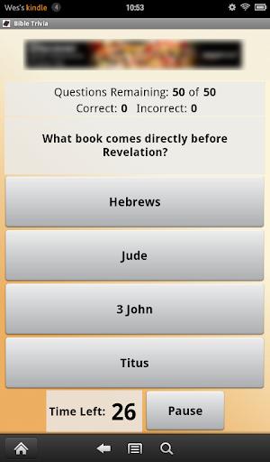Bible Trivia screenshot