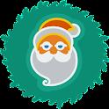 Christmas Widget Clock icon