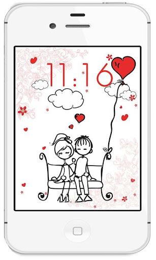 Love Funny Draw live wallpaper