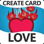 Love Create Card, wishes