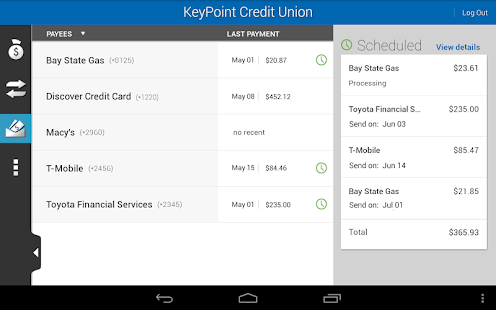 KeyPoint Credit Union - screenshot thumbnail