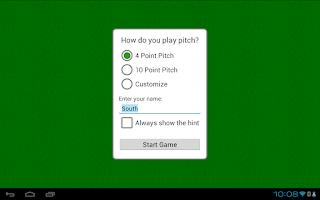 Screenshot of Pitch
