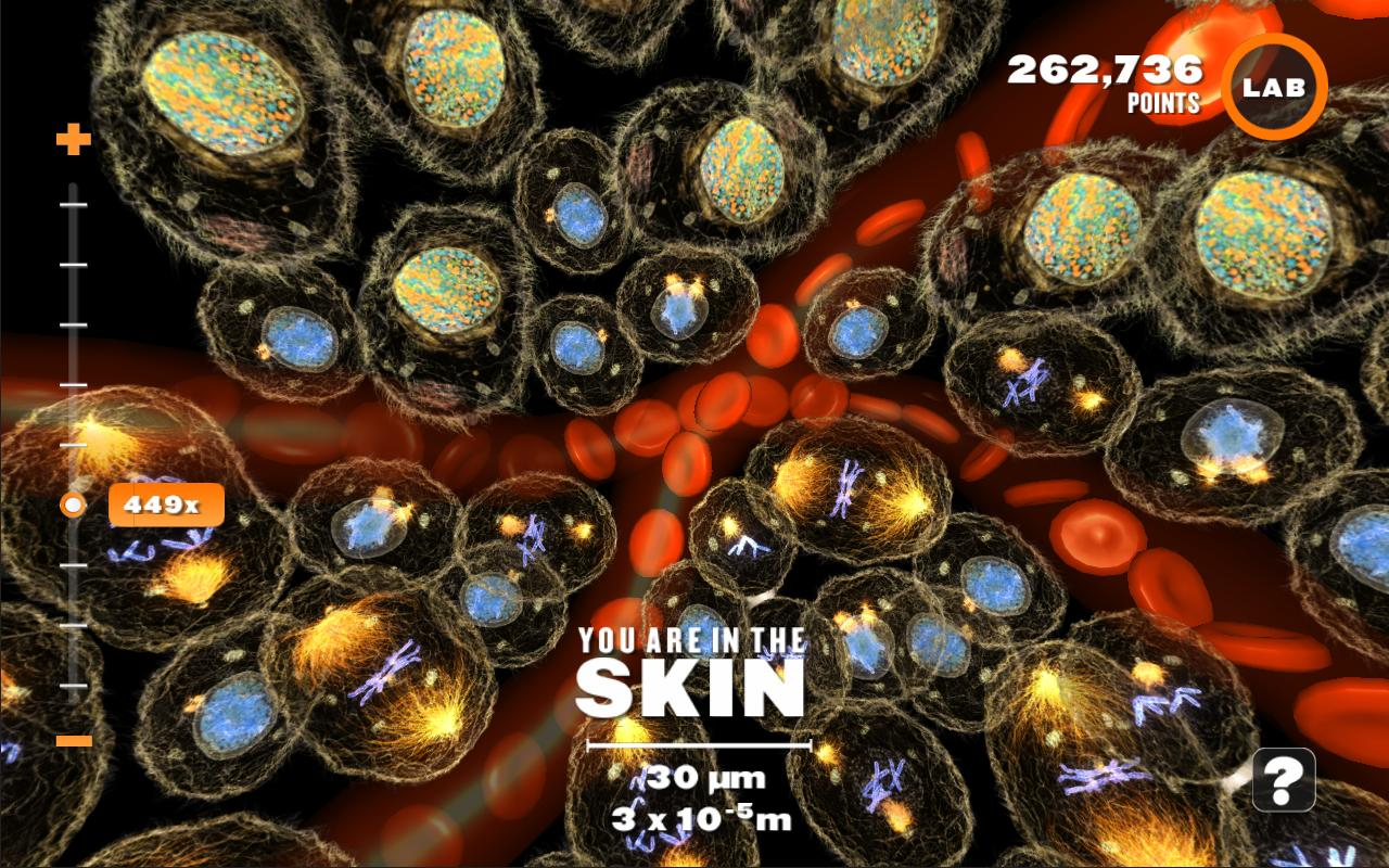 Powers of Minus Ten - Cells- screenshot
