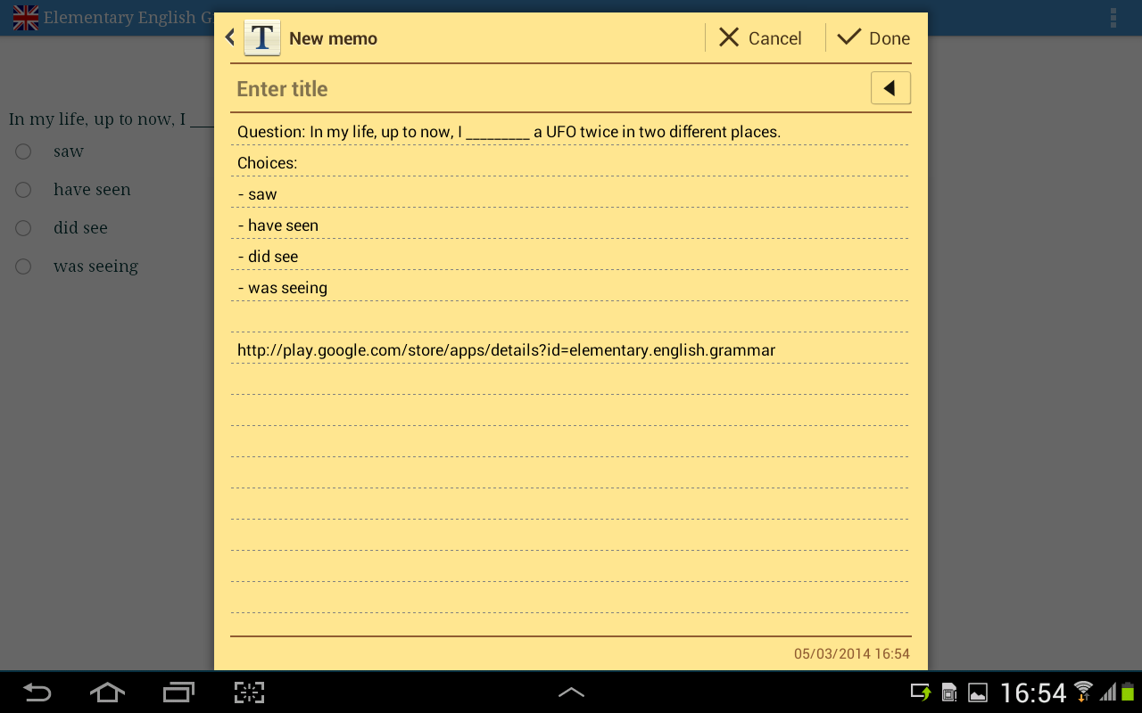 Worksheet Elementary English Grammar elementary english grammar android apps on google play screenshot