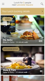 CityHawk - London Restaurants- screenshot thumbnail