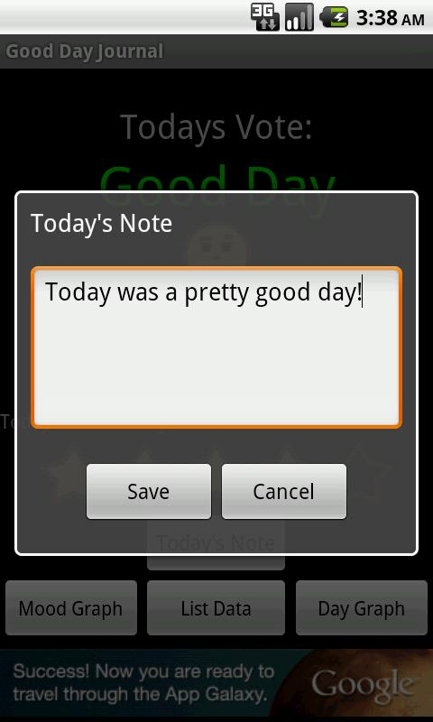 Good Day Journal - screenshot