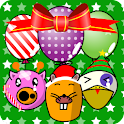 My baby Xmas (Balloon pop!) logo