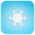 snowflake lock & wallpaper icon