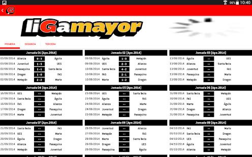 Liga Mayor- screenshot thumbnail