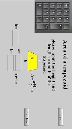Geometric Formula Calculator 1.1.0 screenshots 1