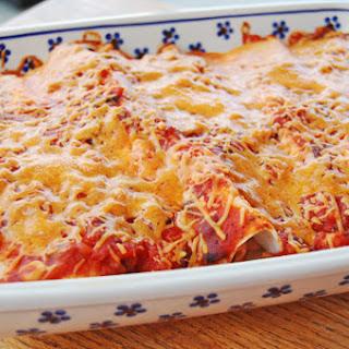 Grilled Chicken and Cream Cheese Enchiladas – 5 Ingredients.