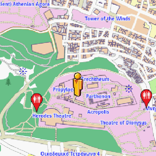 Athens Amenities Map LOGO-APP點子