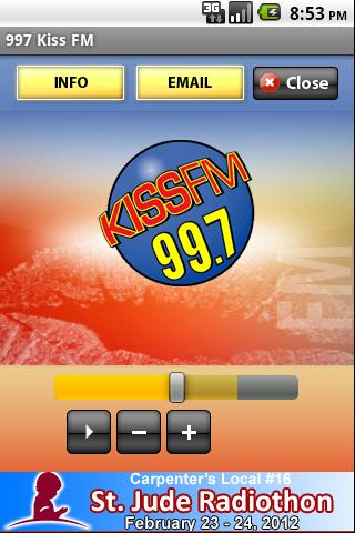 997 Kiss FM - screenshot