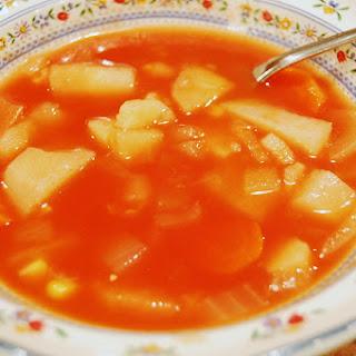 All Veggie Vegetable Soup.