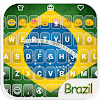 Brazil Emoji Keyboard Theme