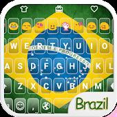Brazil Emoji Keyboard Theme