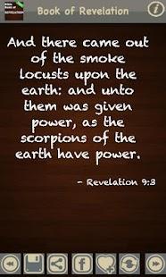 Book of Revelation (KJV) - náhled