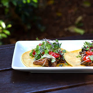 Mexican Braised Beef Tacos.
