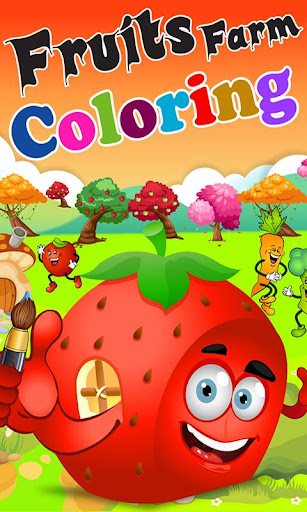 Fruits Farm Coloring