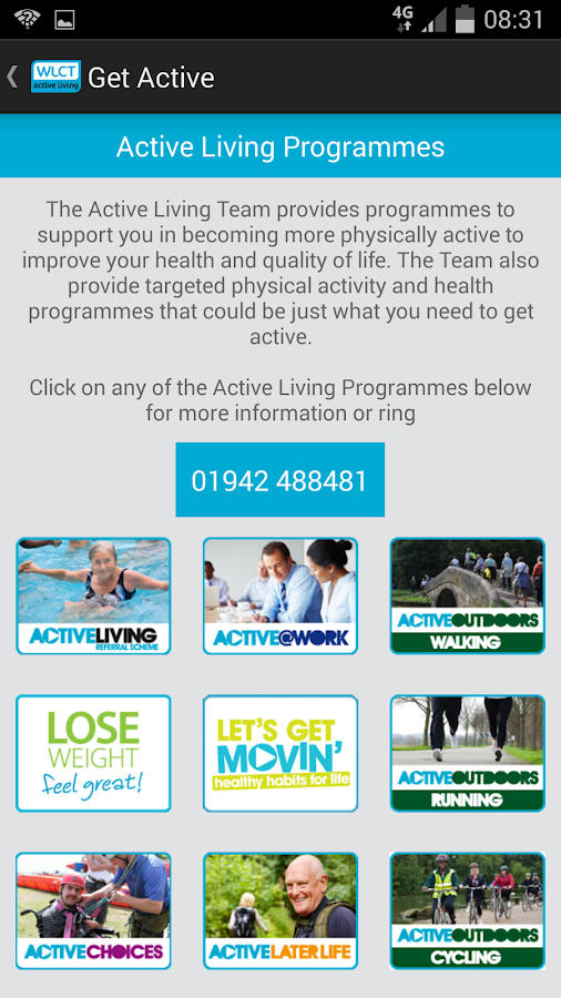 WLCT Get Active- screenshot