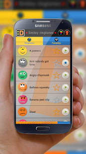 Smiley ringtones - screenshot thumbnail