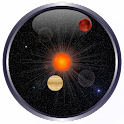 Planet Analog Clock Widget logo