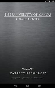 Univ. of Kansas Cancer Center - screenshot thumbnail