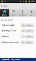 Screenshot of HelpMe