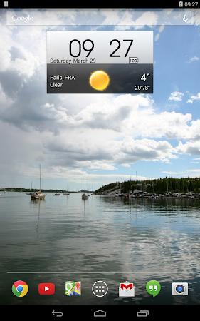 Digital clock & world weather 1.05.49 screenshot 194375