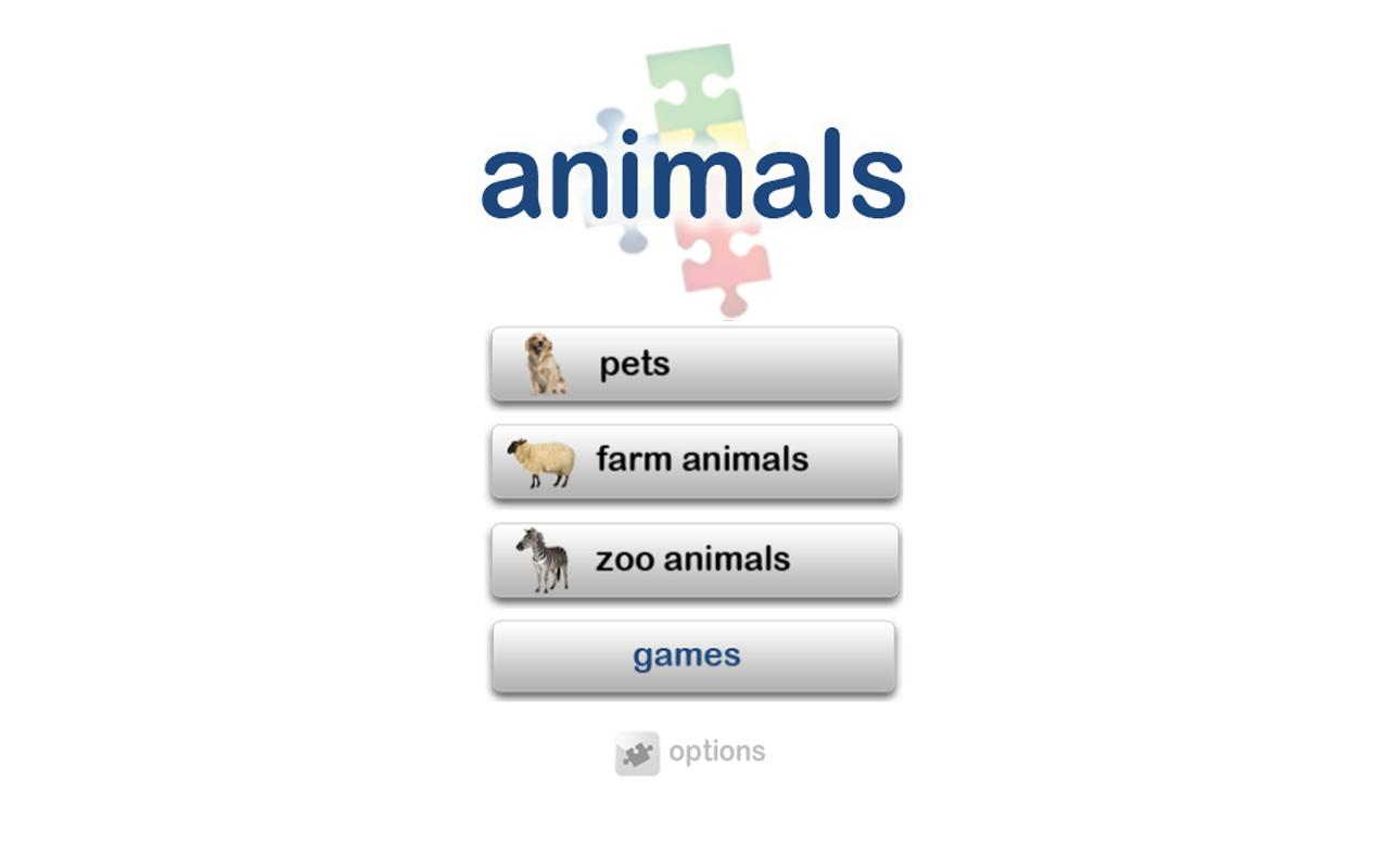 Autism iHelp – Animals- screenshot