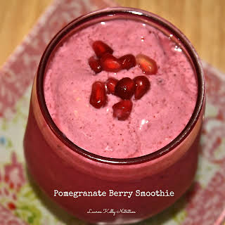 Pomegranate Berry Smoothie.